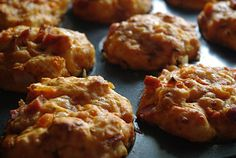 Pizza muffins. I love hearty food homemade ready to eat on-the-go.