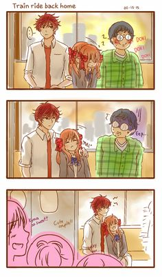 Overprotective!Mikorin gives me life. I like how they think mikochiyo is a couple. I like it so much. (Nobody touches Chiyo. Kukukuku)