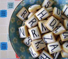 biscoitos scrabble
