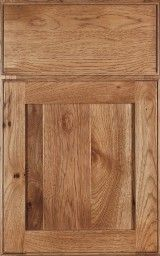 Cottage  (Full Overlay)  / Rustic Hickory, Expresso Like door style