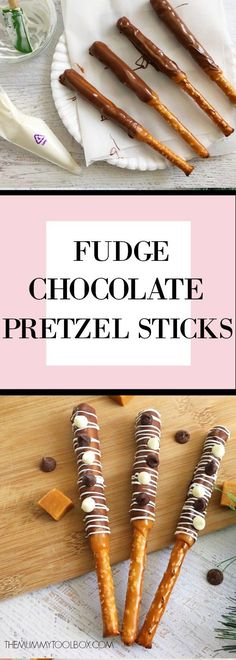 These fudge chocolate pretzel sticks are the perfect entertaining snack that will be a hit among adults and kids alike, try this delicious recipe. Perfect Food, Perfect Party, Chocolate Pretzel Rods, Low Carb Breakfast Easy, Recipe Cover, Pretzel Sticks, Sweet And Salty, Party Snacks, Smoothie Recipes