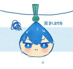 Drying ...  From tanakanatan0222  ...   Free! - Iwatobi Swim Club, haruka nanase, haru nanase, haru, free!, iwatobi, nanase, squishy bean