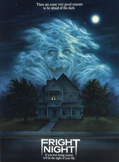Crazy 100 Vintage Horror Movie Posters FRIGHT NIGHT- Quintessential horror film with just the right amount of humor. The post Crazy 100 Vintage Horror Movie Posters appeared first on Film. Creepy Movies, 80s Movies, Great Movies, Movie Film, Childhood Movies, Movies Free, Netflix Movies, Watch Movies, Horror Vintage