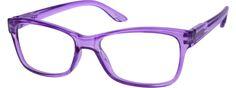 Women's Purple 1225 Plastic Full-Rim Frame with Spring Hinges | Zenni Optical Glasses-lBqtUDh2