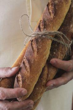 Como hacer baguettes en casa - Megasilvita