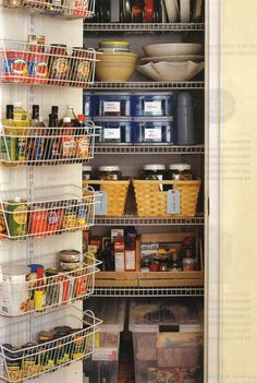 Photo only inspiration - organized small pantry