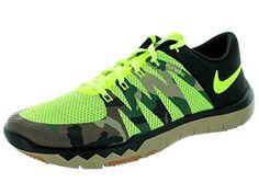 Nike Men's Free Trainer 5.0 V6 Amp Volt/Volt/Black Training Shoe 8 Men