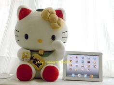 Hello Kitty Maneki Neko | Details about HUGE Mascot Hello Kitty Lucky Wealth Maneki Neko ...