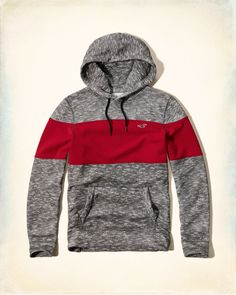 A statement staple featuring colorblock details, an icon at left chest, a front pocket and subtle texture, Slim Fit, Cotton/ Polyester California Style, Hoodie Sweatshirts, Hollister Tops, Superdry, Fashion Tips, Fashion Design, Fashion Trends, Hooded Jacket, Guys