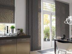 Design curtains for kitchen-20