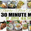 35 30 minute meals get it #67 at Marvelous Mondays http://www.callmepmc.com/2013/09/marvelous-mondays-link-party-features-9-1-13/
