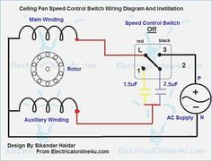 Ceiling fan speed switch wiring diagram electrical pinterest ceiling fan speed control switch wiring diagram cheapraybanclubmaster