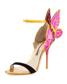 Sophia Webster Chiara Butterfly Wing Sandal,