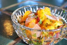Peach Salsa and other peach recipes. Photo by Sarah Strohl
