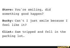 Bucky and Sam rivalry