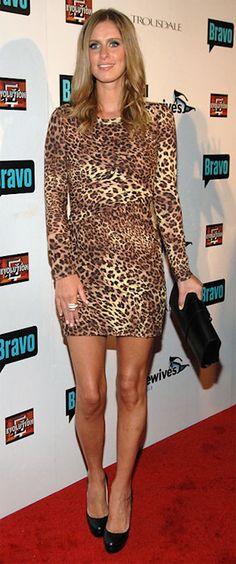 Cheetah print dress. So.want.