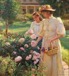 Gregory Frank Harris - June Rhododendrons