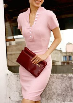 Ladylike in pink - more lusciousness at http://mylusciouslife.com/a-ladylike-life/