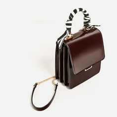 Image 1 of BRIEFCASE WITH SCARF DETAIL from Zara