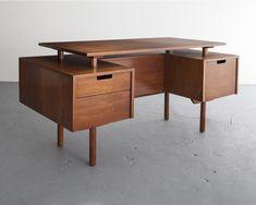 desks milo baughman r u0026 company - Music Production Desk