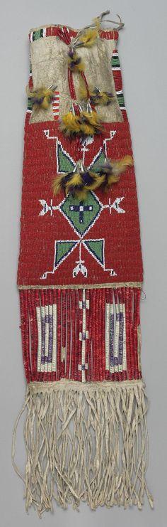 Сумка для табака, Сиу. 1905 год. Южная Дакота.