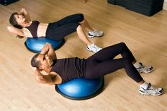 Think exercise is all about toned abs and weight loss? It also makes you happier and smarter.: 7 Mind-Blowing Benefits of Exercise - US News & World Report, this could motivate me Men's Health Month, Fitness Diet, Health Fitness, Balance Trainer, Benefits Of Exercise, Health Benefits, Toned Abs, Ab Workout At Home, Sore Muscles