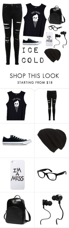 """""""*Ice Cold*"""" by smiling4ever ❤ liked on Polyvore featuring Valfré, Miss Selfridge, Converse, Phase 3, LAUREN MOSHI, Ray-Ban, Princess Carousel and Monster"""