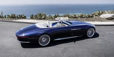 The 'Vision Mercedes-Maybach 6 Cabriolet' all-electric concept at the Monterey Car Week. July 2017
