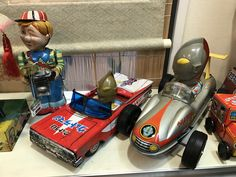 Ultraman Tin Toy at Kyoto toy museum.