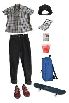 """""""marco demac"""" by origami-kitten ❤ liked on Polyvore featuring Barbour, Vans, Stussy and EA7 Emporio Armani"""