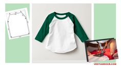 🖐APRENDE A CONFECCIONAR T-SHIRTS PASO A PASO GUÍA COMPLETA ONLINE PARA PRINCIPIANTES 🖐 Sewing Patterns For Kids, Sewing For Kids, Baby Sewing, Clothing Patterns, Sewing Machine Projects, Pattern Drafting, Pulls, Dressmaking, Free Pattern