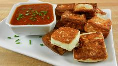 Seared Queso Blanco - #Football Foodie