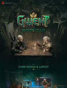 Landing Page Inspiration, Web Design Inspiration, Game Card Design, Video Game Logos, Cool Pokemon Cards, Gaming Banner, Ui Web, Comic Games, The Witcher