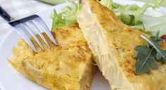 Recette - Omelette aux pommes de terre et Bresse Bleu. - Notée 4.3/5 par les internautes