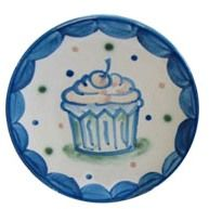 Cupcake Plate by Hadley Pottery