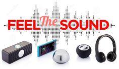 Diferentes tipos de altavoces para poder escuchar tu música preferida.