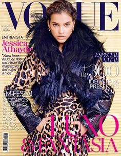 Cover with Barbara Palvin December 2014 of PT based magazine Vogue Portugal from Condé Nast Publications including details. Vogue Covers, Vogue Magazine Covers, Fashion Magazine Cover, Fashion Cover, Barbara Palvin, Anne Hathaway, Stella Mccartney, Img Models, Vogue Fashion