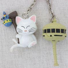 RARE! Dragon Ball Z Karin with Tower Figure Key Chain Banpresto JAPAN ANIME2