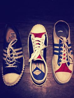 Minimal brands   70 s LaCrosse SpeedStar theAstro usamade. Tawan P. Vintage  Canvas Shoes ccceec74d