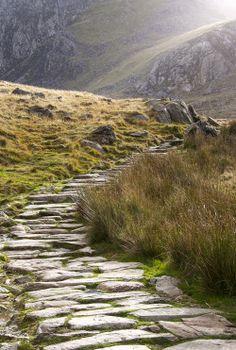 Path - Cwm Idwal, Snowdonia, Wales