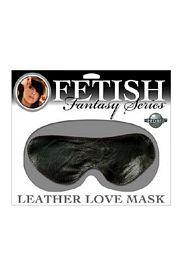Fetish Fantasy Leather Blindfold