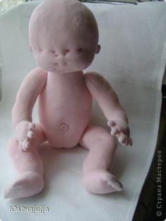 Игрушка, Куклы, Мастер-класс Шитьё: Мастер-класс 2 часть Ткань. Фото 37
