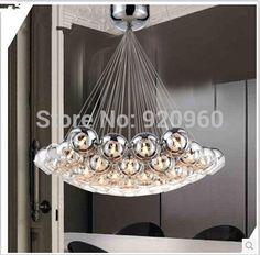 Cheap light suit, Buy Quality light grow directly from China light jump Suppliers: Modern Crystal Glass Ball Pendant Light Restaurant Bar Single Glass Pendant Light Clear Glass Ball Dia 20cm 25cm 30cmUSD