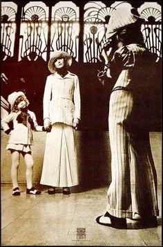 Promotional photo shoot for Biba's children range, Image scanned by Sweet Jane, photograph: John McConnell/Pentagram.