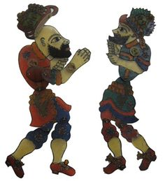 Traditional Turkish Shadow Puppets..meet KARAGÖZ and HACİVAT