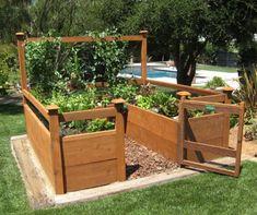 Small Vegetable Garden Design | Vegetable garden, Post check and ...