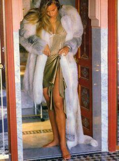"""Shades Of Adventure"", Vogue US, December 1987 Photo : Denis Piel Model : Rachel Williams"