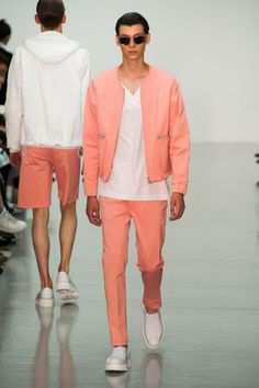 Défilé Lou Dalton, homme printemps-été 2015, Londres. #LFW #Fashionweek #runaway