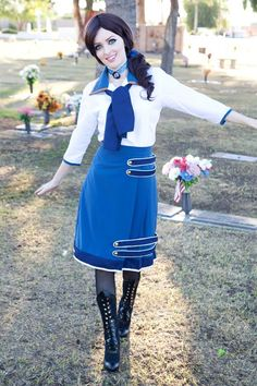 Elizabeth cosplay - Bioshock Infinite