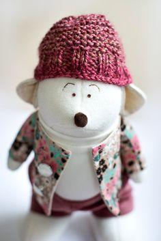 Tatifly handmade toys: Mouse Phill